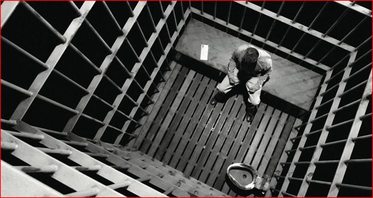 prison merde cellule