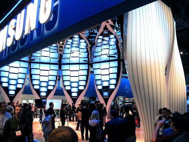 Stand Samsung au CES 2010 (cc: joanna8555)
